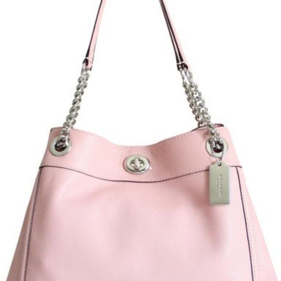 Coach Handbags - Coach Turnlock Edie Shoulder Bag